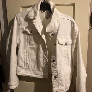 Joe's Jeans White Denim Jacket